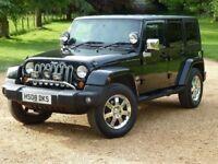 Bargain !!! 2008 Jeep Wrangler 2.8 CRD Sahara Hard Top 4x4 5dr