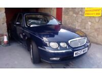 ROVER 75 LONG MOT MARCH 2018 PX WELCOME