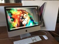 """24"""" iMac 2.4GHz/4GB Ram/120GB Solid State Drive/Boxed Like New"""