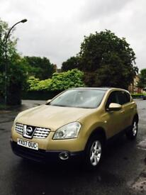 Nissan Qashqai 2007 1.6 petrol 2 owner from new.