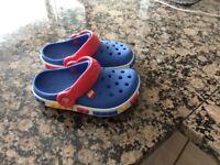 CROCS shoes blue