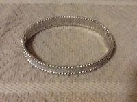 Cubic zirconia bracelet (925)