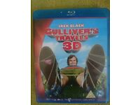 Gulliver's travels 3d blu ray
