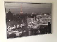Paris painting art piece