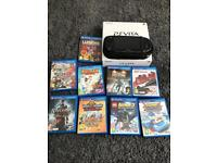 Ps vita bundle with 9 games