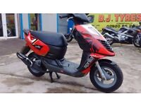 2006 Aprilia sr50 sonic moped.new m.o.t,new exhaust,new top end.good condition.ready to go