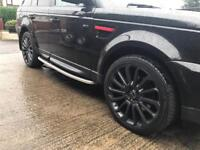 """Range Rover sport 22"""" alloy wheels and tyres may fit T4 T5"""