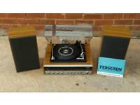 FERGUSON RECORD PLAYER AND TUNER