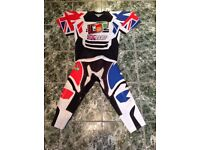 KIDS MOTO X CLOTHING AND CHEST GUARD