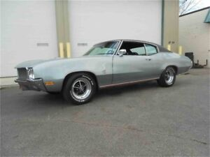 WANTING A  1970--1972 BUICK GS