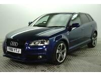 2012 Audi A3 SPORTBACK TDI S LINE SPECIAL EDITION Diesel blue Manual