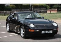 Porsche 968 3.0 Tiptronic 1993 Black modern classic L@@K