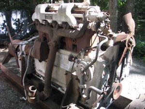 Gardner Engine & Over centering Clutch