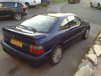 Rover Coupe 1.6 T reg very rare