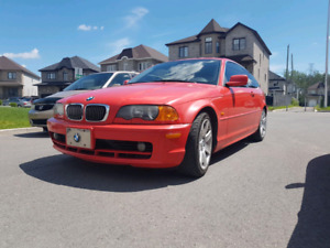 BMW 325CI 2001 AUTOMATIC COUPE RARE FIRE RED
