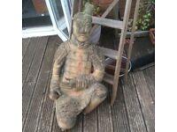 Large Terracotta Chinese warrior garden statue