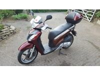 2011 Honda SH125i Scooter - £1400 ono (sh125 learner legal)