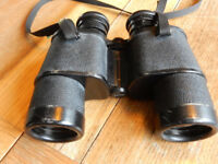 RUSSIAN USSR TENTO БПЦ 8x40 Binoculars. Vintage. Cold War era. Serial number 542762