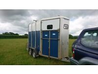 HB510 - Double Horsebox. New aluminium Floor and Fully Serviced. One Owner from New.