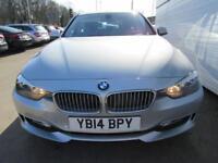 BMW 3 SERIES 2.0 318D MODERN TOURING 5d 141 BHP (silver) 2014