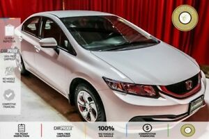 2015 Honda Civic LX FUEL EFFICIENT ECO MODE! HEATED SEATS! BL...