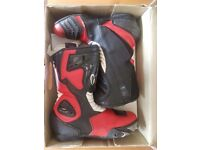 Motorcycle boots 43 Red