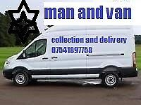 MAN AND VAN COLLECTION AND DELIVERY