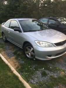 Clean 2005 civic coupe
