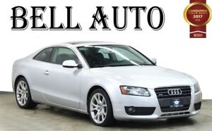 2011 Audi A5 PREMIUM PKG  POWER MOONROOF- LEATHER INTERIOR