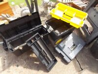 Stanley tool chest and tool box £30 the pair both in good order