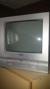 """10"""" TV WITH BUILT IN DVD PLAYER"""