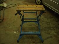 Black and Decker Workmate fold up work bench
