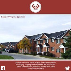STUDENTS WIN FREE RENT - FANSHAWE HOUSING London Ontario image 1