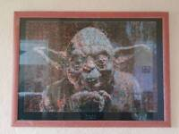 Star wars mosaic picture