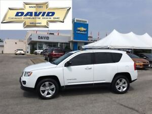 2013 Jeep Compass NORTH 4WD 5DR LOADED STCTR LOCAL TRADE!!!