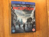 Inception Blu-ray 3 disc hologram slip cover