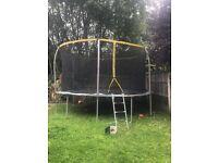 14ft trampoline 6months old