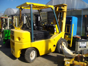 TCM FORKLIFT WITH AIR TIRES