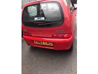 Cheap car of the day 2001 Fiat Seicento, starts and drives well, no MOT hence price, trade sale, car