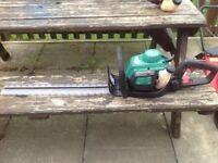 Petrol hedge cutters,strimmer,blower