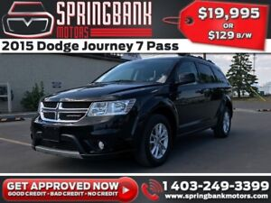 2015 Dodge Journey SXT 7 Pass $129B/W INSTANT APPROVAL, DRIVE HO