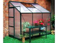 Dorset Lean to greenhouse - brand new in box