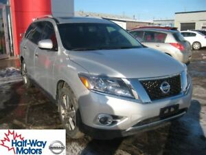 2014 Nissan Pathfinder Platinum | Entertainment Package