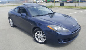 2008 Hyundai Tiburon GS - 145km Power Sunroof 5spd