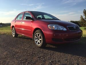 2006 Corolla automatic low mileage! A/C new tires,new inspection