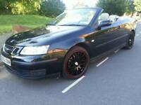 SAAB 9-3 LINEAR CONVERTIBLE*2005*AUTOMATIC/TIPTRONIC*LADY OWNED*LEATHERS*EL-HOOD*SUPERB CONDITION*
