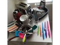 Collection of cookware
