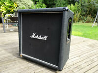 MARSHALL 1966B 2X12 SLANT GUITAR CAB CABINET CELESTION G12T75 8OHM 150WATTS