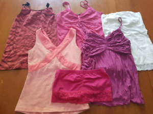 adult XS & S tank top ( lulu lemon, strapless, crop and normal)