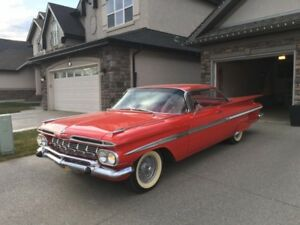 CHEVROLET IMPALA 2 DOOR SPORT COUPE 1959, 348 CID V8